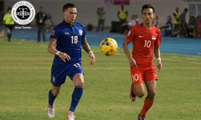 Tiebreaker Times Masuk goal books Thailand's semis ticket against defensive Singapore 2016 AFF Suzuki Cup (Philippines) Football News  Thailand (Football) Sunny Hassan Singapore (Football) Sarawut Masuk Kiatisuk Senamuang Kawin Thamsatchanan