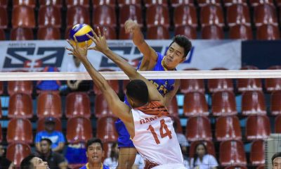 Tiebreaker Times Air Force closes in on title after tight Game One win News PVL Volleyball  Ysay Marasigan Rhovyl Verayo Reyson Fuentes Michael Carino Mark Alfafara Lorenzo Capate Jr. Jessie Lopez IEM Volley Masters Edmar Bonono Cignal HD Spikers Champion Supra Spikers Bryan Bagunas Air Force Airmen 2016 Spikers Turf Season 2016 Spikers Turf Reinforced Conference