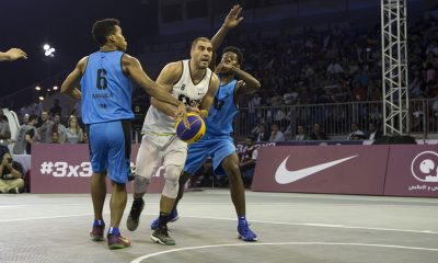Tiebreaker Times Team Manila exits early; Novi Sad nails three-peat in 3x3 All Stars tilt 3x3 Basketball News  Sidney Onwubere Rey Guevarra Novi Sad AlWahda UAE Marko Zdero Marko Savic Dusan Bulut Dejan Majstorovic CJ Perez Bright Akhuetie 2016 FIBA 3x3 All Stars