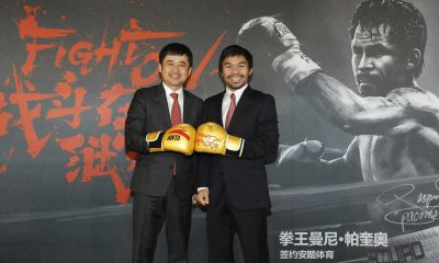Tiebreaker Times Chinese brand Anta picks up Pacquiao Boxing News  Manny Pacquiao Jessie Vargas