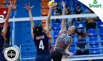 Tiebreaker Times Lady Pirates loot Lady Knights in season opener CSJL LPU NCAA News Volleyball  Patrice Inton NCAA Season 92 Women's Volleyball NCAA Season 92 Mikaela Lopez Michael Inoferio Lyceum Women's Volleyball Letran Women's Volleyball La Rainne Fabay Juno Carreon Emil Lontoc Czarina Orros Cherry Genova Cherilyn Sindayen