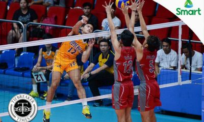 Tiebreaker Times Heavy Bombers outlast Generals, gain first win EAC JRU NCAA News Volleyball  Zedrick Cilocilo Ryan Dela Paz Ronaldo Dampitan Rod Palmero Patrick Sulivas Paolo Lim NCAA Season 92 Men's Volleyball NCAA Season 92 Larry Sioco JRU Men's Volleyball Joshua Miña EAC Men's Volleyball