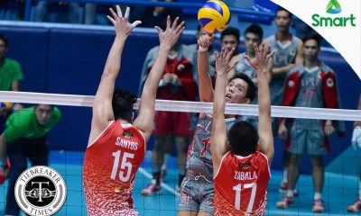 Tiebreaker Times Presnede, Lyceum hand San Beda first defeat LPU NCAA News SBC Volleyball  San Beda Men's Volleyball NCAA Season 92 Men's Volleyball NCAA Season 92 Mark Santos Mark Pecana Mark Enciso Lyceum Men's Volleyball Kimmuel Samonte Jose Roque Joeward Presnede Jhonel Badua Gerald Zabala Emiliano Lontoc Christian Rubio
