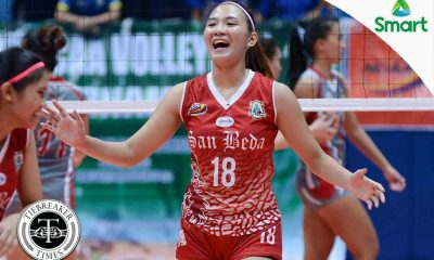 Tiebreaker Times Red-hot Lady Spikers devour error-prone Lady Pirates Basketball LPU NCAA News SBC  San Beda Women's Volleyball Nemesio Gavino NCAA Season 92 Women's Volleyball NCAA Season 92 Lyceum Women's Volleyball Francesca Racraquin Emiliano Lontoc Daryl Racraquin Cherry Genova