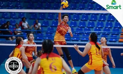 Tiebreaker Times Lady Stags cruise past Lady Cardinals for second win MIT NCAA News SSC-R Volleyball  Vira Guillema San Sebastian Women's Volleyball NCAA Season 92 Women's Volleyball NCAA Season 92 Mapua Women's Volleyball Leonardo Tongco Katrina Racelis Kath Villegas Clint Malazo Alyssa Eroa