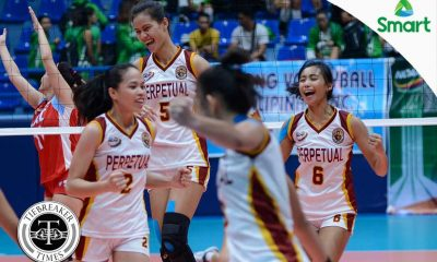Tiebreaker Times Lady Altas pummel Lady Generals in 'confidence-building' win EAC NCAA News UPHSD Volleyball  Sammy Acaylar Perpetual Women's Volleyball NCAA Season 92 Women's Volleyball NCAA Season 92 Marijo Medalla Mae Gual Lourdes Clemente Leo Rivera Jamela Suyat EAC Women's Volleyball