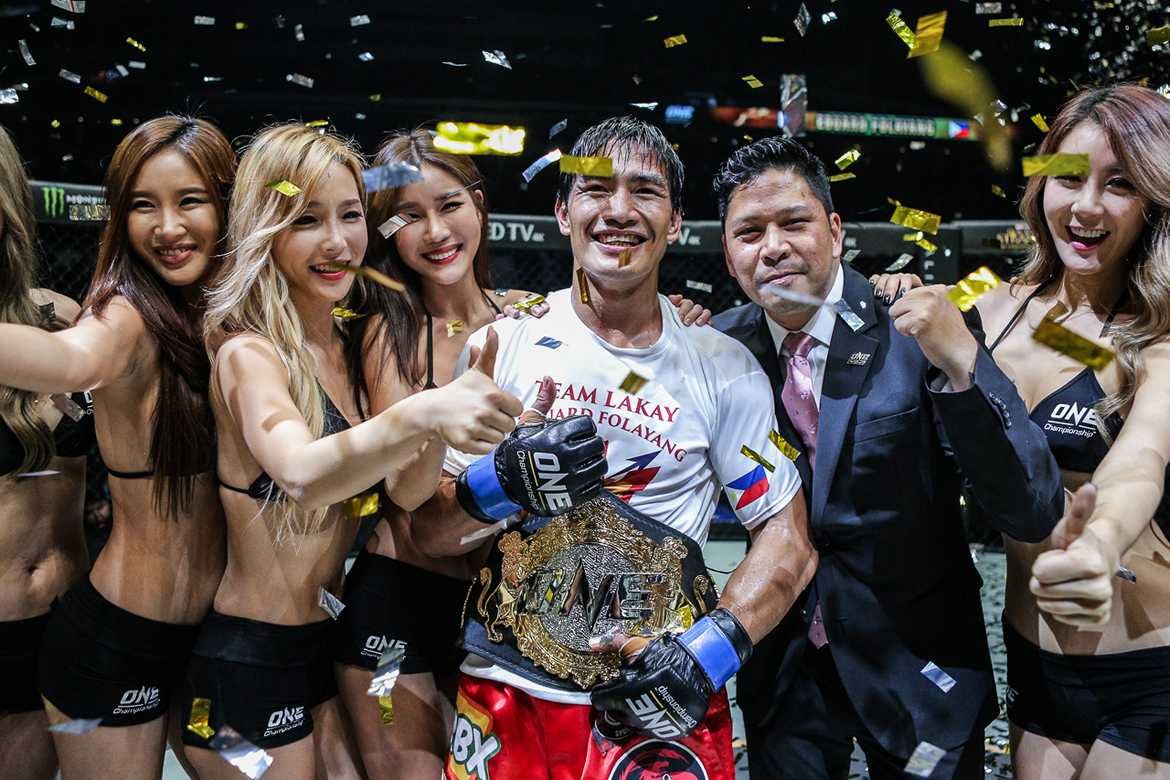 Tiebreaker Times Folayang does the unthinkable, slays Aoki to win ONE Lightweight crown Mixed Martial Arts News ONE Championship  Vaughn Donayre Shinya Aoki ONE Defending Honor Eduard Folayang Amir Khan
