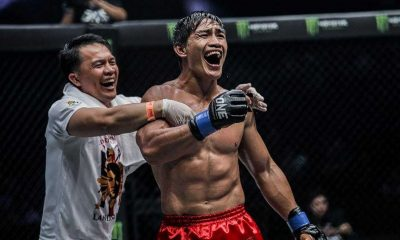 Tiebreaker Times Eduard Folayang looks to replicate Singapore magic come ONE: Inside The Matrix Mixed Martial Arts News ONE Championship  Team Lakay Philippine Sportswriters Association Forum ONE: Inside The Matrix Mark Sangiao Eduard Folayang