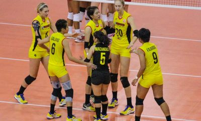 Tiebreaker Times Spelman bounces back as F2 Logistics beats Cignal anew PSL Sports Volleyball  Sydney Kemper Sammy Acaylar Ramil De Jesus Paneng Mercado Laura Schaudt Janine Marciano Hayley Spelman F2 Logistics Cargo Movers Cignal HD Spikers Cha Cruz 2016 PSL Grand Prix
