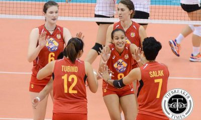 Tiebreaker Times Gonzaga, Army one win away from redeeming season News PSL Volleyball  RC Cola Army Lady Troopers Jovelyn Gonzaga 2016 PSL Season 2016 PSL Grand Prix