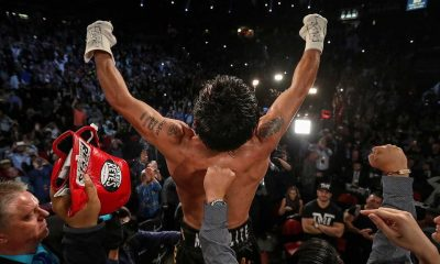 Tiebreaker Times Pacquiao claims Welterweight crown; Donaire yields belt Boxing News  Nonito Donaire Jr. Manny Pacquiao Jessie Vargas Jessie Magdaleno