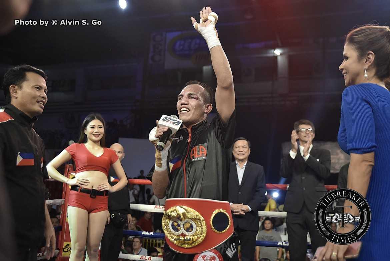 Philippine Sports News - Tiebreaker Times Milan Melindo shares secret behind resurgence Boxing News  Pinoy Pride 42 Milan Melindo ALA Promotions