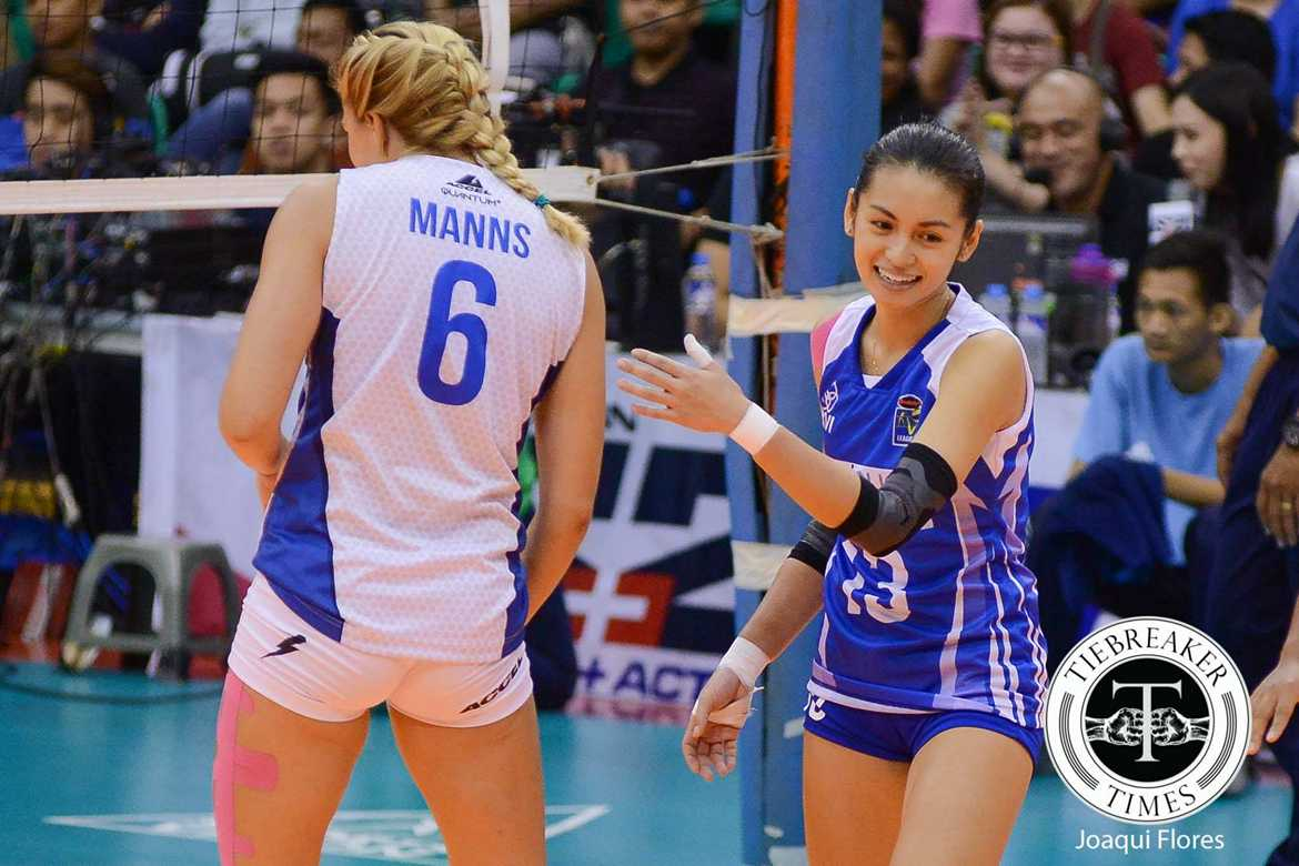 Tiebreaker Times Lazaro on loss to Customs: 'Our bodies couldn't keep up with our heart' News PVL Volleyball  Denden Lazaro Bali Pure Purest Water Defenders 2016 SVL Season 2016 SVL Reinforced Conference
