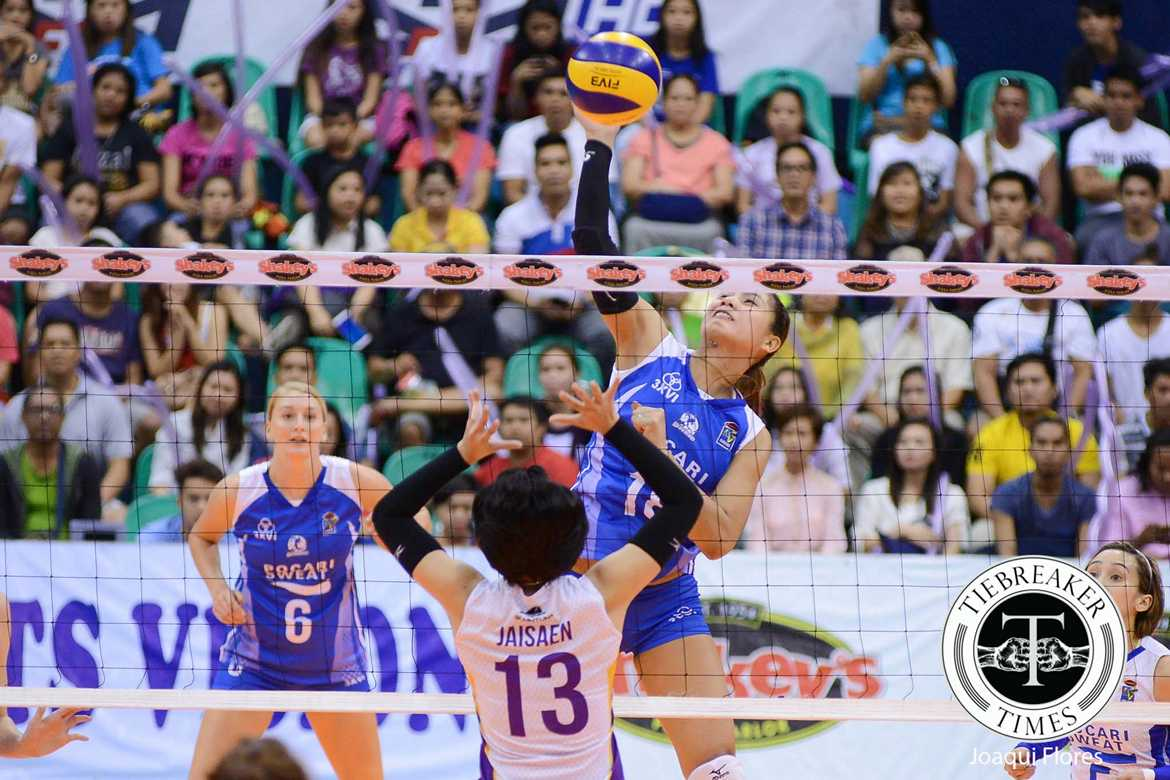 Tiebreaker Times Pablo repays company's trust with consistent play News PVL Volleyball  Pocari Sweat Lady Warriors Myla Pablo 2016 SVL Season 2016 SVL Reinforced Conference