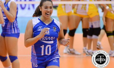 Tiebreaker Times Motolite inks Iris Tolenada to two-year deal News PVL Volleyball  motolite power builders Iris Tolenada 2019 PVL Season 2019 PVL Open Conference