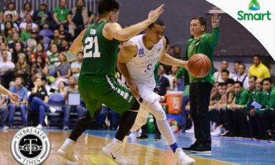 Tiebreaker Times Player of the Week Black gives Ateneo much needed lift ADMU Basketball News UAAP  UAAP Season 79 Men's Basketball UAAP Season 79 UAAP Player of the Week Sean Manganti Matt Salem Ateneo Men's Basketball Aaron Black