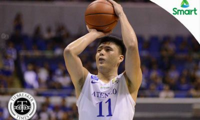 Tiebreaker Times Ateneo's Go makes a stand against Mbala, La Salle ADMU Basketball News UAAP  UAAP Season 79 Men's Basketball UAAP Season 79 Isaac Go Ateneo Men's Basketball