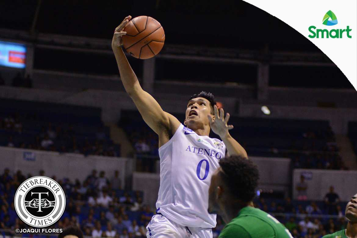 Tiebreaker Times Ravena vows to give La Salle a big fight ADMU Basketball News UAAP  UAAP Season 79 Men's Basketball UAAP Season 79 Thirdy Ravena Ateneo Men's Basketball