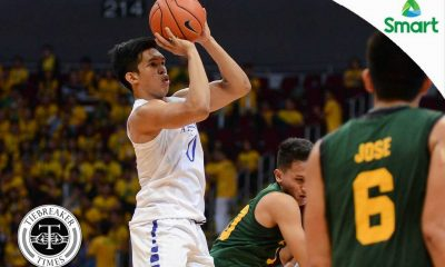 Tiebreaker Times Blue Eagles weather Tamaraws' charge to grab share of second ADMU Basketball FEU News UAAP  UAAP Season 79 Men's Basketball UAAP Season 79 Thirdy Ravena Tab Baldwin Raymar Jose Prince Orizu Nash Racela FEU Men's Basketball Ateneo Men's Basketball
