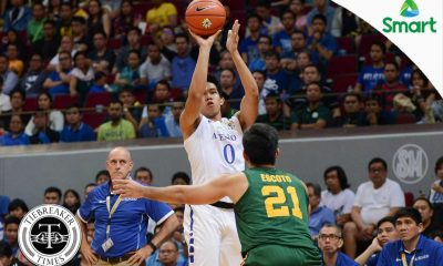 Tiebreaker Times Ravena remains positive: 'It's just the half, it's another half on Wednesday' ADMU Basketball News UAAP  UAAP Season 79 Men's Basketball UAAP Season 79 Thirdy Ravena Ateneo Men's Basketball