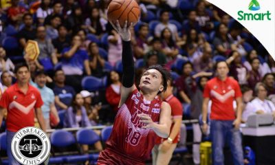 Tiebreaker Times UE spoils UP's Seniors Night Basketball News UAAP UE UP  UP Men's Basketball UE Men's Basketball UAAP Season 79 Men's Basketball UAAP Season 79 Renz Palma Philip Manalang Paul Desiderio Jett Manuel Derrick Pumaren Dave Moralde Bonbon Batiller Bo Perasol
