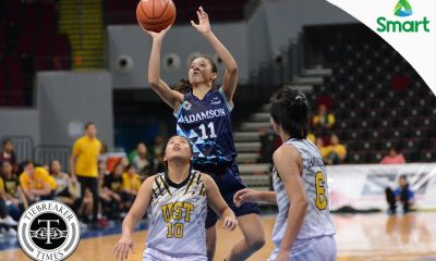 Tiebreaker Times Pingol vows Lady Falcon payback against UST AdU Basketball News UAAP  UAAP Season 79 Women's Basketball UAAP Season 79 Kaye Pingol Adamson Women's Basketball