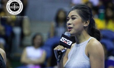 Tiebreaker Times Valdez relishes first try at hosting Cheerleading News UAAP  UAAP Season 79 Cheerdance Competition UAAP Season 79 Alyssa Valdez
