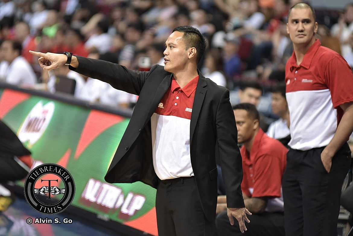 Tiebreaker Times No more coats for Chris Gavina as he joins blue collar Rain or Shine Basketball News PBA  Rain or Shine Elasto Painters PBA Season 44 Chris Gavina