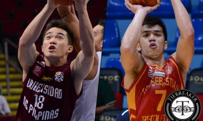 Tiebreaker Times Café France adds UP's Desiderio, Baste's Calisaan Basketball News PBA D-League  Paul Desiderio Michael Calisaan Cafe France Bakers 2017 PBA D-League Season 2017 PBA D-League Aspirants Cup