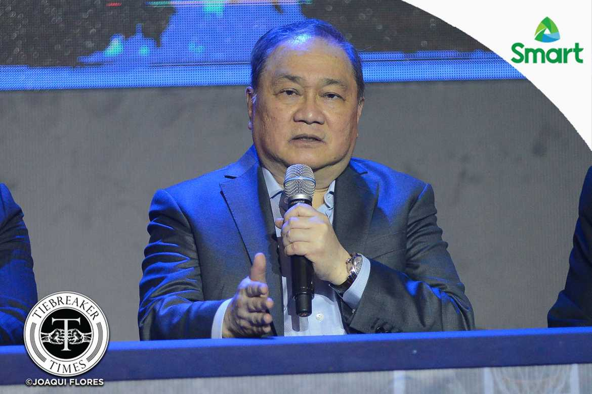 Philippine Sports News - Tiebreaker Times MVP wants 2023 FIBA World Cup hosting to be his lasting legacy Basketball Gilas Pilipinas News  Manny V. Pangilinan 2023 FIBA World Cup