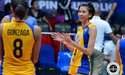 Tiebreaker Times Jessey De Leon returns to volleyball, signs with Pocari Sweat News PVL Volleyball  Pocari Sweat Lady Warriors Jessey De Leon 2017 PVL Season