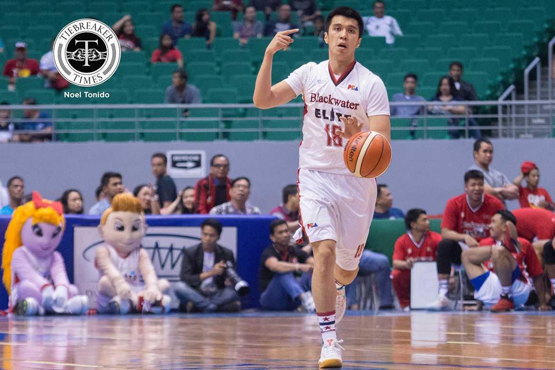 Tiebreaker Times Dela Cruz offers no excuses in loss to Mahindra Basketball News PBA  PBA Season 42 Blackwater Elite Art dela Cruz 2016-17 PBA All Filipino Conference