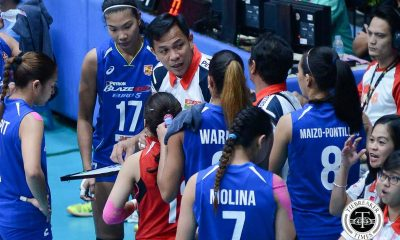 Tiebreaker Times Petron files complaint letter after missed call in Game One News PSL Volleyball  Shaq delos Santos Petron Tri-activ Spikers 2016 PSL Season 2016 PSL Grand Prix