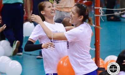 Tiebreaker Times Shaq delos Santos wants Santiago sisters to focus on Japan stint first News Volleyball  Shaq delos Santos Philippine Women's National Volleyball Team Jaja Santiago Dindin Santiago-Manabat