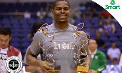 Tiebreaker Times Ben Mbala to be crowned as Smart Player of the Year Basketball DLSU News UAAP  UAAP Season 79 Men's Basketball UAAP Season 79 DLSU Men's Basketball Ben Mbala
