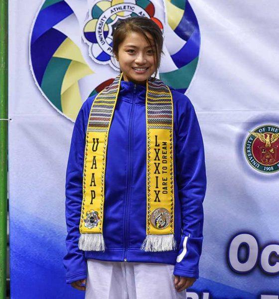 Tiebreaker Times Pauline Lopez starts drive for girls affected by COVID-19 pandemic ADMU News Taekwondo UAAP  UAAP Season 82 Pauline Lopez Coronavirus Pandemic
