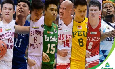 Tiebreaker Times Montalbo, Potts lead cast of student-athletes to be feted for excellence ADMU AdU Basketball DLSU NCAA News SBC UAAP UP  UP Men's Basketball UAAP Season 79 Men's Basketball UAAP Season 79 San Beda Seniors Basketball Robert Bolick Raymar Jose Paul Desiderio Papi Sarr NCAA Season 92 Seniors Basketball NCAA Season 92 Kib Montalbo Jett Manuel Isaac Go DLSU Men's Basketball Davon Potts Collegiate Basketball Awards Ateneo Men's Basketball Adamson Men's Basketball