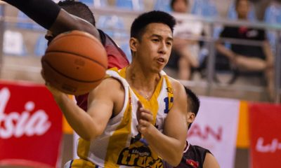 Tiebreaker Times Iñigo becomes more than just lead guard for Kaohsiung Truth ABL Basketball News  Sabatino Chen Kaohsiung Truth Achie Inigo 2016 ABL Season