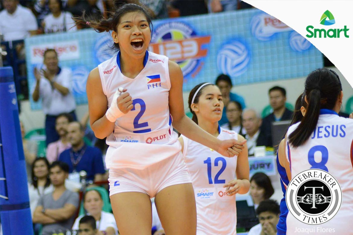 Tiebreaker Times Alyssa Valdez takes first step in uncharted territory News Volleyball  Alyssa Valdez 3BB Nakornonnt