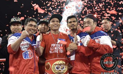 Tiebreaker Times Jerwin Ancajas stops Jamie Conlan in masterful 6 rounds to retain IBF World Super Flyweight crown Boxing News  MP Promotions Joven Jimenez Jerwin Ancajas