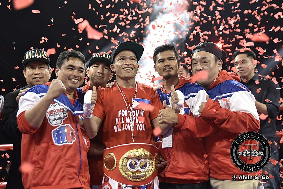 Philippine Sports News - Tiebreaker Times Jerwin Ancajas stops Jamie Conlan in masterful 6 rounds to retain IBF World Super Flyweight crown Boxing News  MP Promotions Joven Jimenez Jerwin Ancajas