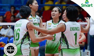 Tiebreaker Times Cardiente ready to drive Lady Blazers back to the top CSB NCAA News Volleyball  Ranya Musa Pauline Cardiente NCAA Season 92 Women's Volleyball NCAA Season 92 Michael Carino Benilde Women's Volleyball