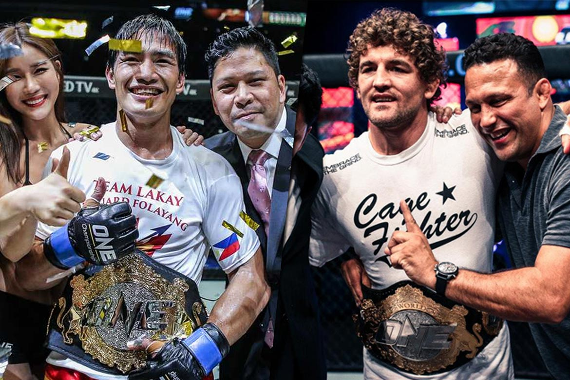 Philippine Sports News - Tiebreaker Times Folayang, Askren expected to defend ONE World Championships in Manila Mixed Martial Arts News ONE Championship  Eduard Folayang Chatri Sityodtong Ben Askren