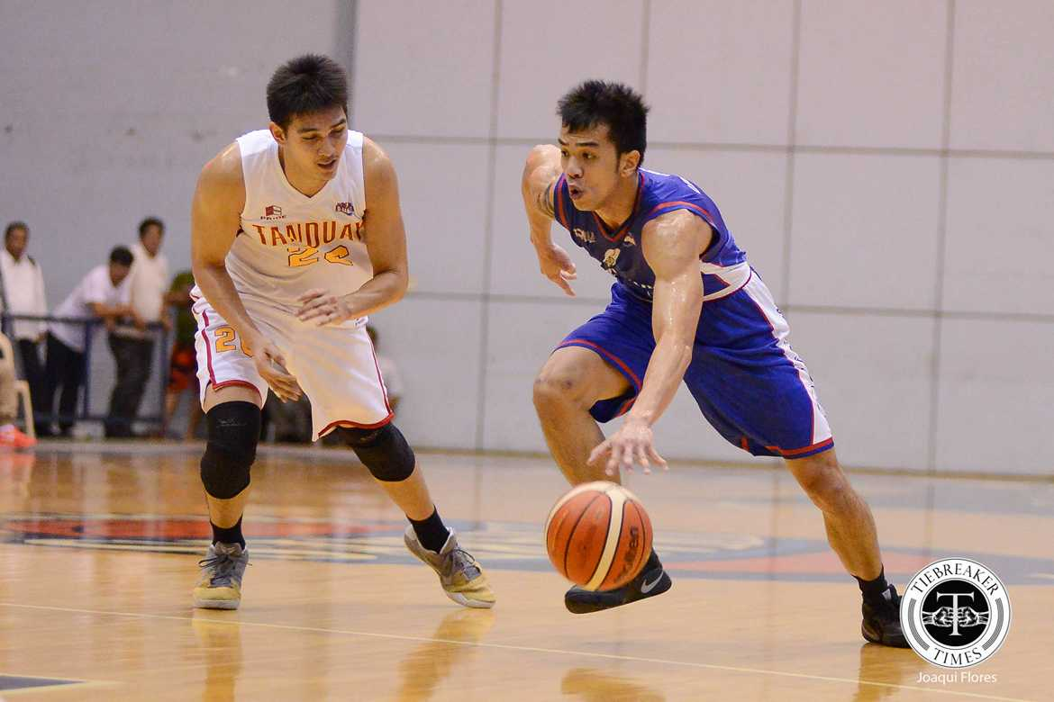Tiebreaker Times Newcomers Calisaan, Desiderio power Cafe France past Tanduay Basketball News PBA D-League  Tanduay Rhum Masters Rod Ebondo Paul Desiderio Michael Calisaan Mark Cruz Lawrence Chongson Egay Macaraya Cafe France Bakers Bong Quinto 2017 PBA D-League Season 2017 PBA D-League Aspirants Cup