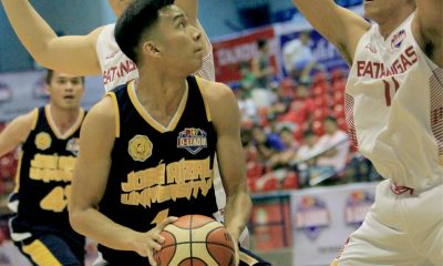 Tiebreaker Times JRU staves off Batangas for second win Basketball JRU News PBA D-League  Teytey Teodoro Province of Batangas (PBA D-League) JRU Seniors Basketball Joseph Sedurifa Ervin Grospe Eric Gonzales CJ Isit 2017 PBA D-League Season 2017 PBA D-League Aspirants Cup