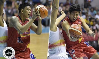 Tiebreaker Times With injuries piling up, Matias and Trollano step up for Rain or Shine Basketball News PBA  Ronnie Matias Rain or Shine Elasto Painters PBA Season 42 Don Trollano Caloy Garcia 2016-17 PBA All Filipino Conference