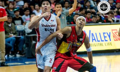 Tiebreaker Times Belo on struggle against SMB: 'Marami akong natutunan' Basketball Gilas Pilipinas News PBA  PBA Season 42 Mac Belo Blackwater Elite 2016-17 PBA All Filipino Conference