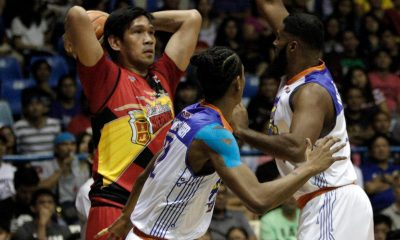 Tiebreaker Times Cabagnot clutch once more as San Miguel escapes TNT for 9th straight win Basketball News PBA  TNT Katropa San Miguel Beermen PBA Season 42 Nash Racela Mo Tautuaa Marcio Lassiter Leo Austria Larry Fonacier June Mar Fajardo Jayson Castro Arwind Santos Alex Cabgnot 2016-17 PBA All Filipino Conference