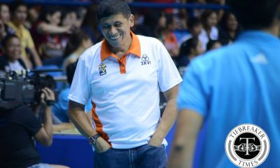 Tiebreaker Times Gorayeb glad to be back as PLDT coach News PVL Volleyball  Roger Gorayeb PLDT Home Ultera Ultra Fast Spikers 2017 PVL Season