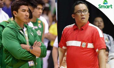 Tiebreaker Times Ayo, Jarin to be named as Coaches of the Year Basketball DLSU NCAA News SBC UAAP  San Beda Seniors Basketball Jamike Jarin DLSU Men's Basketball Collegiate Basketball Awards Aldin Ayo